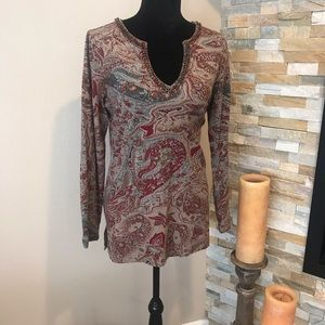 Soft Surroundings stretchy top